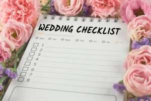 wedding planning checklists