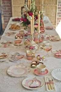 Afternoon tea party wedding - Top tips