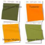 Pantone Spring and Summer colours for 2019