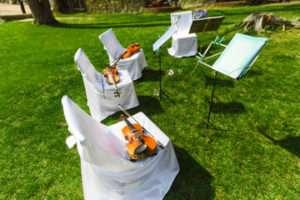 Outdoor wedding - avoid these mistakes