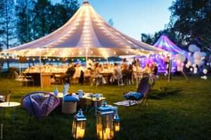 Why you should have a marquee wedding 8 reasons
