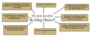 Do you need a wedding planner