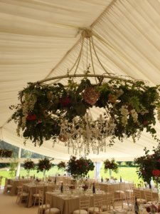 The hottest marquee wedding - ever!
