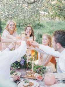 How do you choose your bridal party
