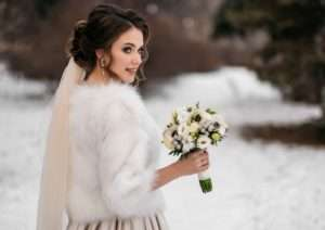 How to weatherproof your winter wedding