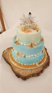 Seaside themed wedding