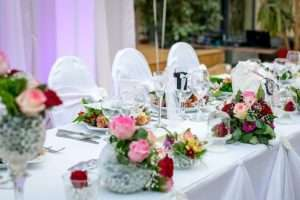 Top Table at Your Wedding - What to think about